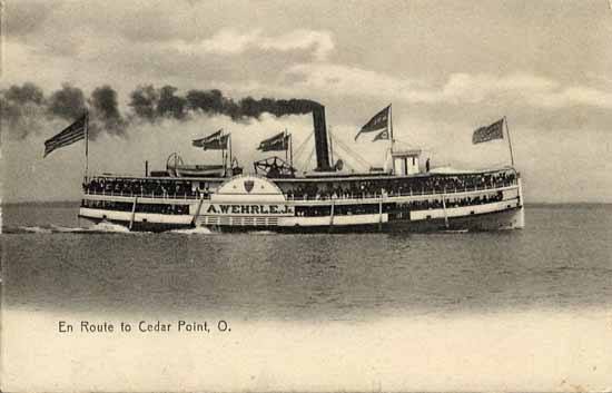 Penny Postcards From Erie County Ohio