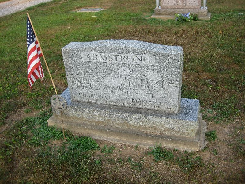 when did neil armstrong tombstone -#main