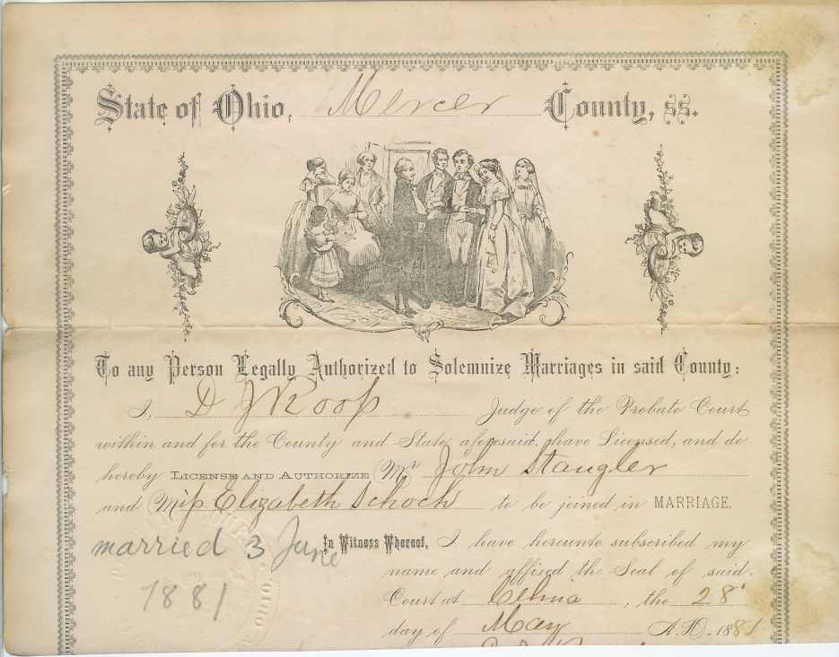 cuyahoga county marriage license