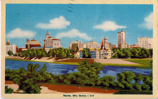 penny postcards from montgomery county  ohio
