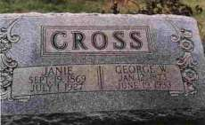George W. & Janie Cross