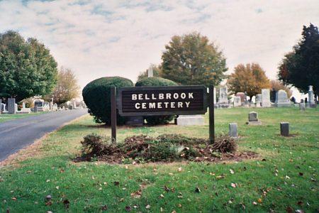 Bellbrook Cemetery Sign