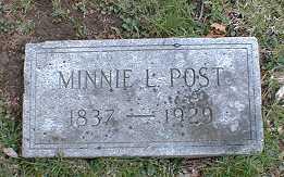 Minnie L. Post