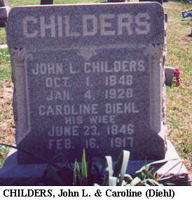 John L. & Catherine (Diehl) Childers