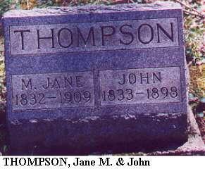 Jane M. & John Thompson