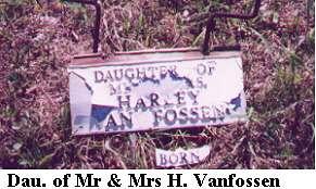 D/O Mr. & Mrs. Van Fossen
