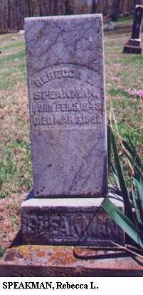 Rebecca L. Speakman