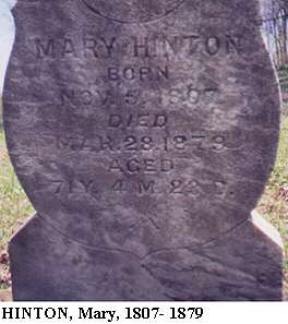 Mary Hinton