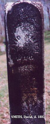 David Smith d. 1882