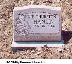 Bonnie Thurston Hanlin Jan 16, 1934
