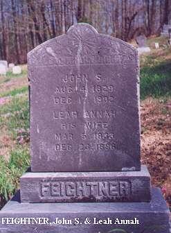 John S. & Leah Anna Feightner