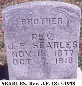 Rev. J.F. Searles
