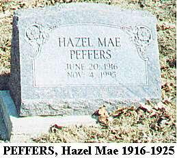 Hazel Mae Peffers