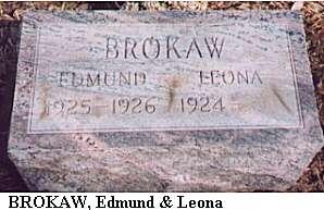 Edmund & Leona Brokaw