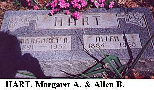 Margaret A. & Allen B. Hart