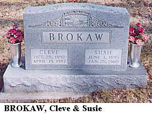 Cleve & Susie Brokaw