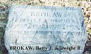 Betty J. & Dwight B. Brokaw