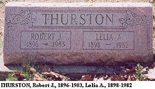 Robert J. & Lelia A. Thurston