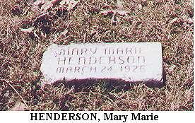 Mary Marie Henderson