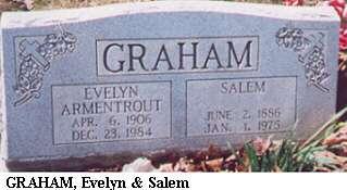 Evelyn Armentrout & Salem Graham