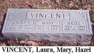 Laura, Mary & Hazel Vincent