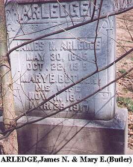 James M. & Mary E. (Butler) Arledge