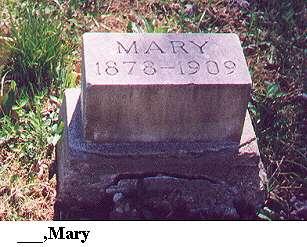 Mary ______