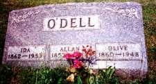 Ida, Allan & Olive O'Dell