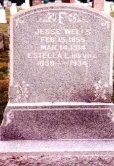 Jesse & Estella Wells