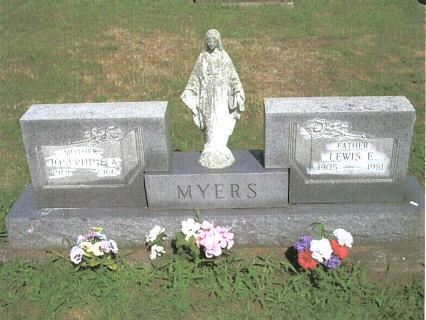 Myers Headstone
