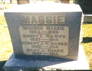 Dennison, Nancy, Robert, J.W. & Mary Massie