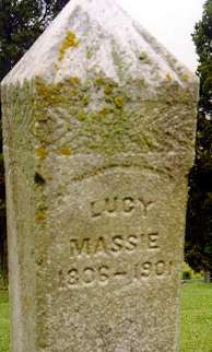 Lucy (Corn) Massie w/o Jeptha