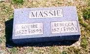 Squire & Rebecca Massie