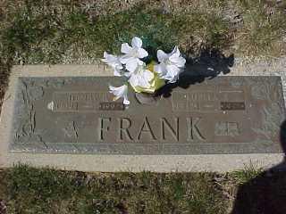 Henry A. (1909-1997) & Luella (Rumer) Frank (1912-1997)