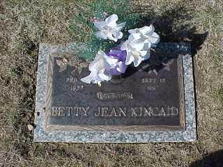Betty Frank Kincaid