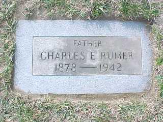Charles Rumer, 1878-1942, s/o Franklin Rumer