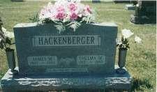 James M. d. 1 Aug 1996 & Thelma M. (Ernest) d. 14 Aug 1997Hackenberger