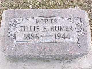 Tillie Rumer, 1886-1944, w/o Charles Rumer