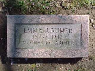 Emma Rumer 1873-1943, w/o Ollie