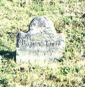 Harriet Tuttle d. 1832 age 5
