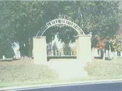 Palmyra Cemetery Entrance