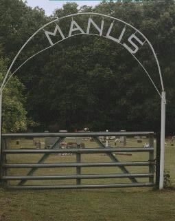 Gate to Manus Cemetery
