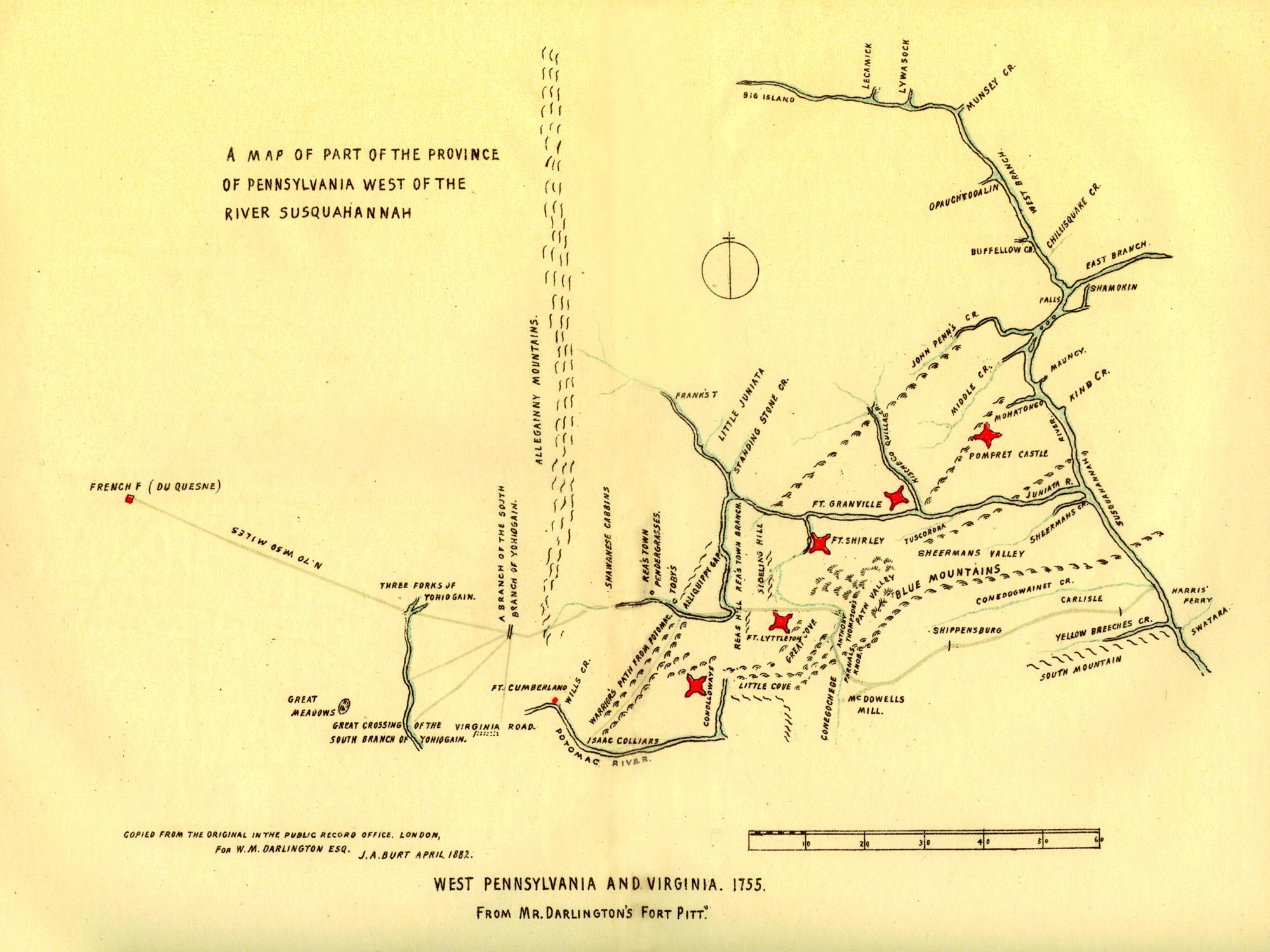 Ff22ml darlingtons 1755 map publicscrutiny Images
