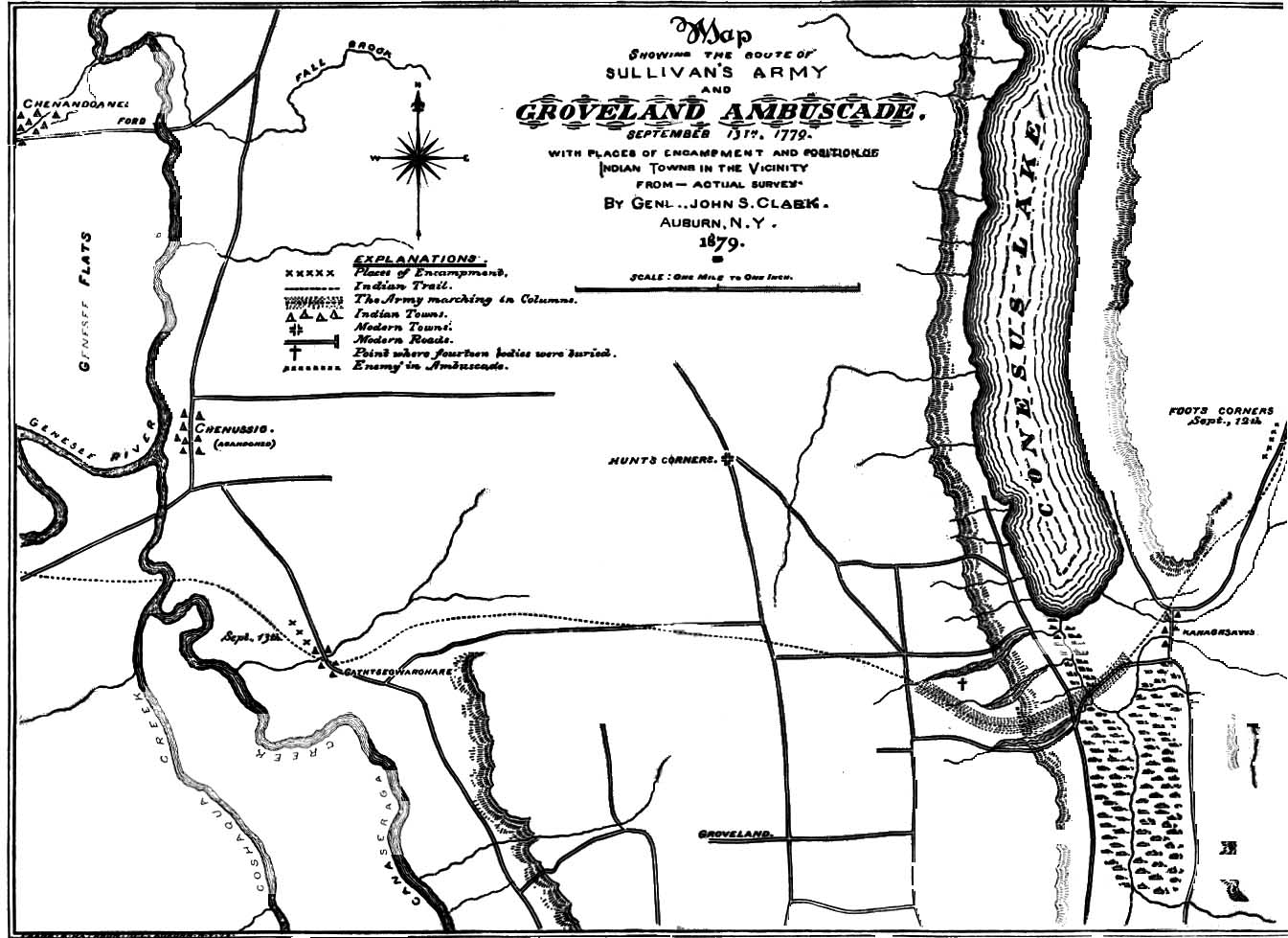 Map Of Groveland Ambuscade