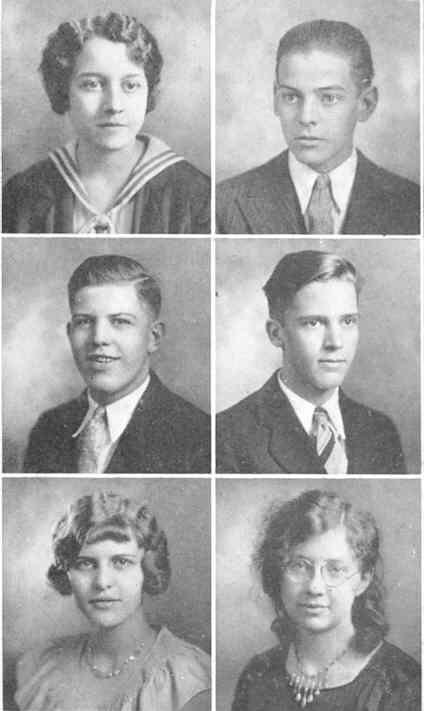 1930 Horseshoe, Altoona High School, Altoona, Blair County, PA - Seniors 1
