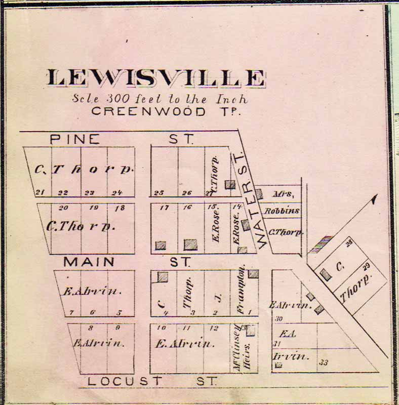 Clearfield (PA) United States  City new picture : Clearfield County PAGenWeb Archives Calwell's Atlas