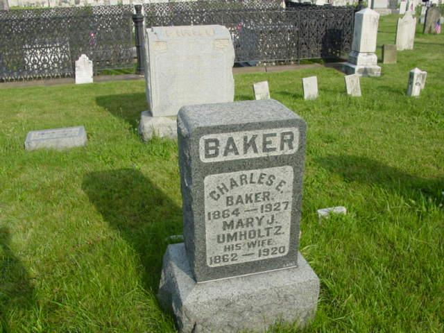 baker  charles e   1864 1927