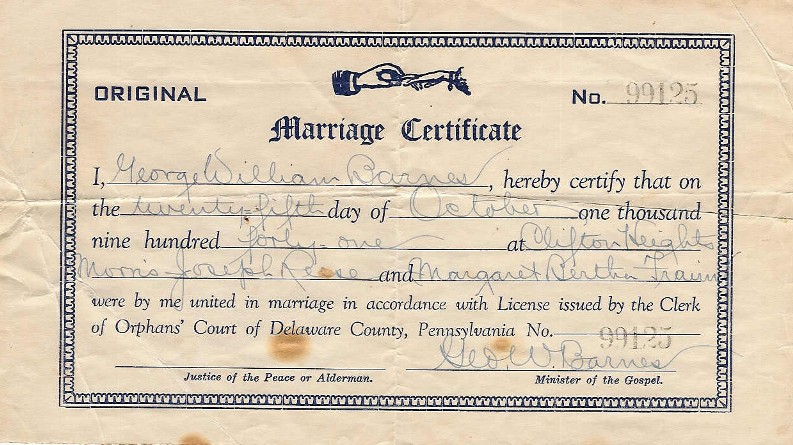 delaware co court house marriage lic