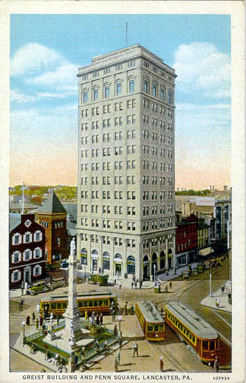 Penny Postcards From Lancaster County Pennsylvania