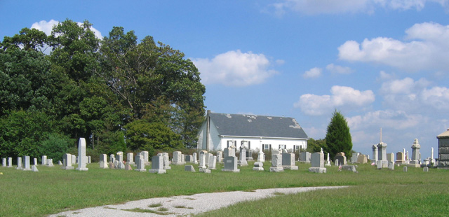 Zion Methodist Cemetery Photograph